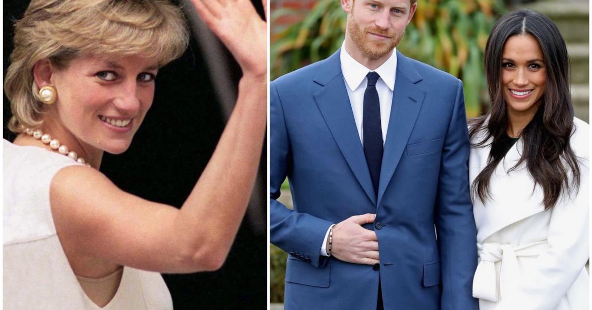 Matrimonio Harry E Megan : Harry e meghan markle un omaggio floreale a diana per il