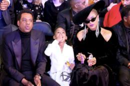 Beyoncé, Blue Ivy e Jay-Z ai Grammy