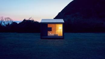 Muji Hut, casa prefabbricata in legno progettata e prodotta dall'azienda giapponese Muji