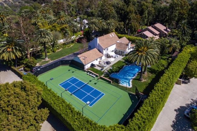 La villa di Patrick Dempsey a Malibu