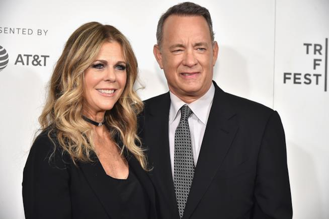 Rita Wilson e Tom Hanks