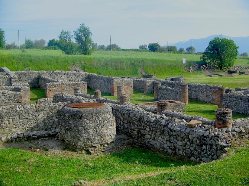 La domus romana del Parco Archeologico di Aeclanum