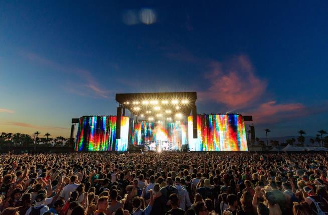 Il festival Coachella nel 2017