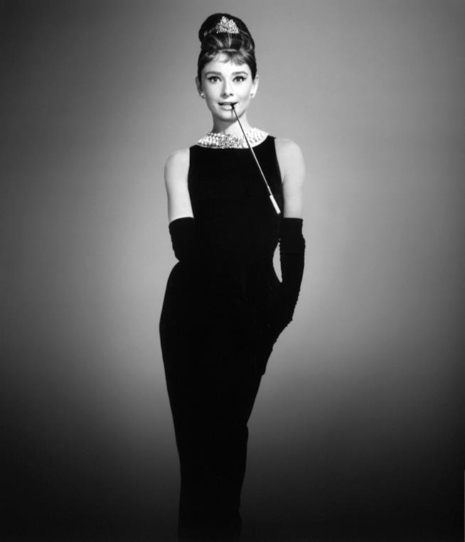 Audrey Hepburn e il tubino in Colazione da Tiffany
