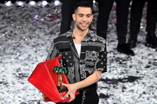 Mahmood vincitore Sanremo 2019