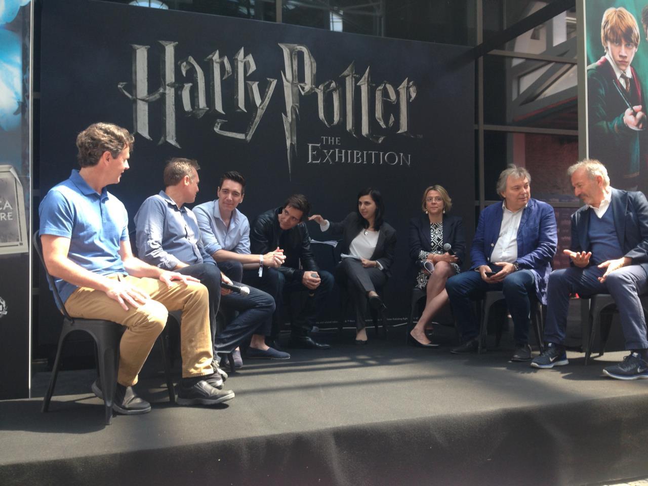 La conferenza della mostra di Harry Potter a Milano