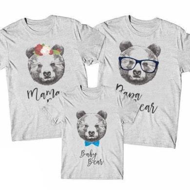 Magliette Family Bear