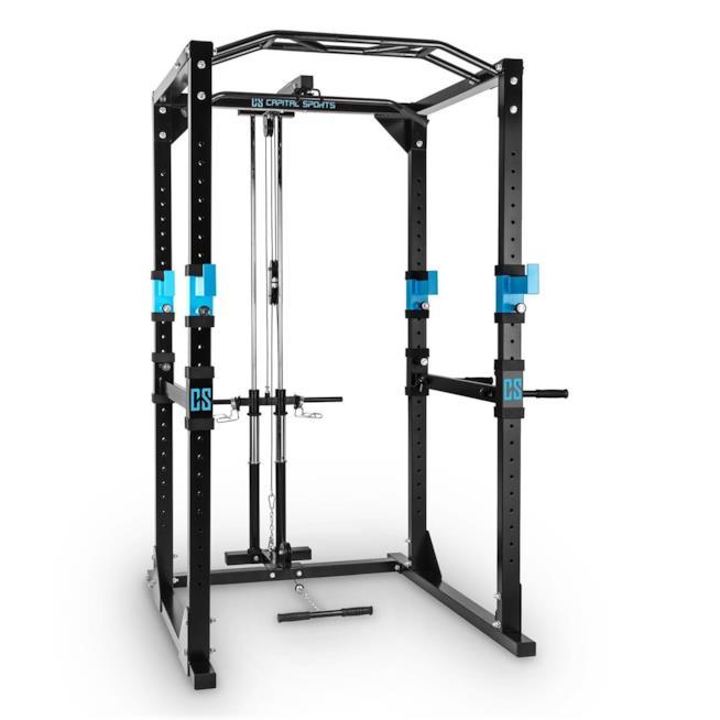 Il Power Rack dove svolgere vari tipi di esercizi