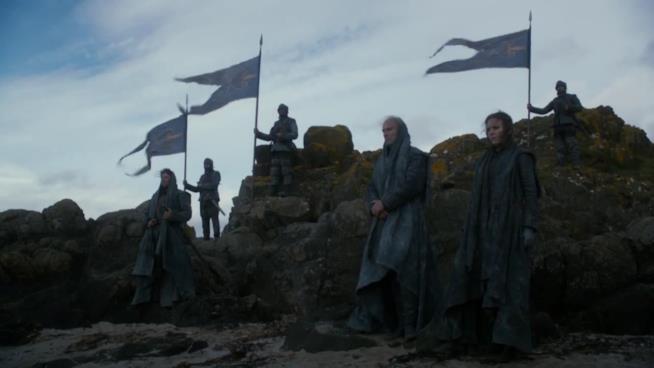 Personaggi in una scena della serie