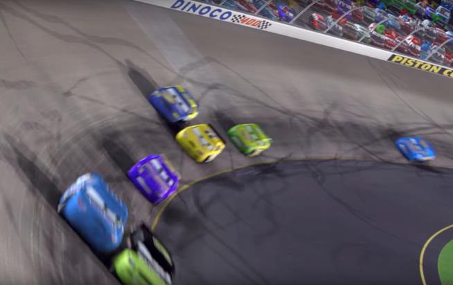 "Scena tratta da ""Cars"", Disney Pixar"