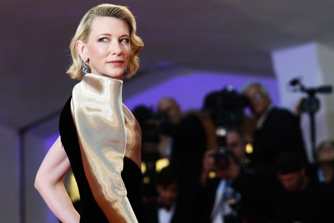 Cate Blanchett sul red carpet