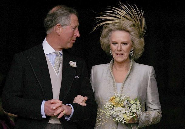 Camilla e Carlo sposi