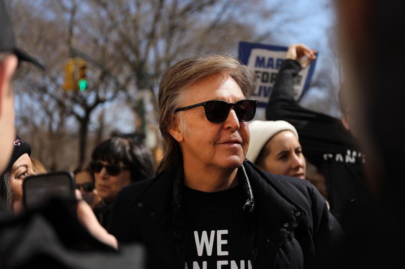 L'ex Beatle Paul McCartney
