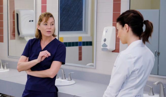 Meredith e Amelia in Grey's Anatomy