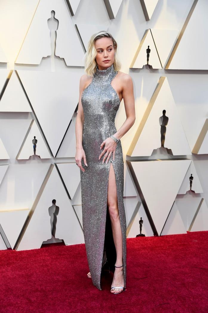 brie Larson sul red carpet degli Oscar
