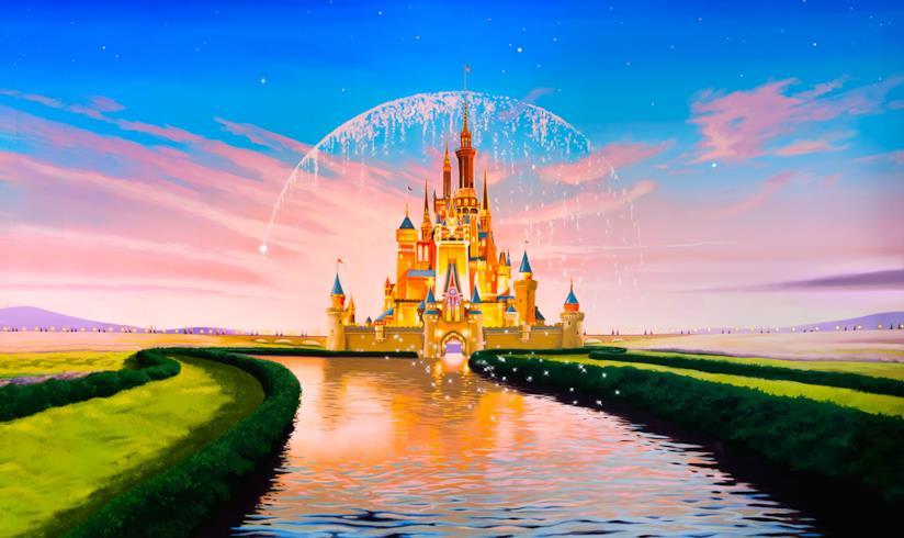 Castello Disney disegnato