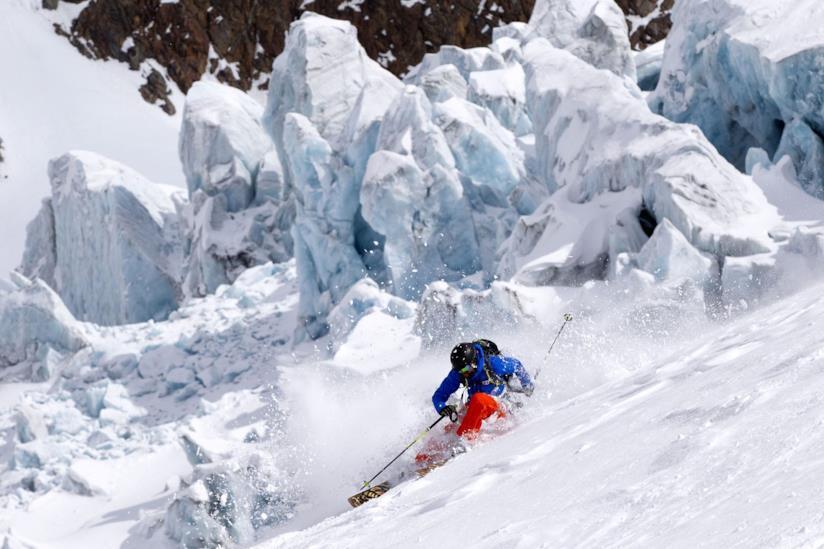 Freestyler, ghiacciaio di Kaunertal, Austria