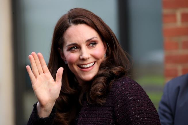 Un sorridente ritratto di Kate Middleton