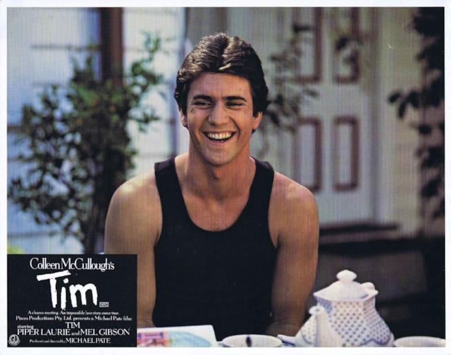 Il poster del film Tim, un uomo da odiare con Mel Gibson