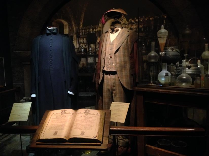 La  mostra di Harry Potter a Milano: Piton e Lumacorno