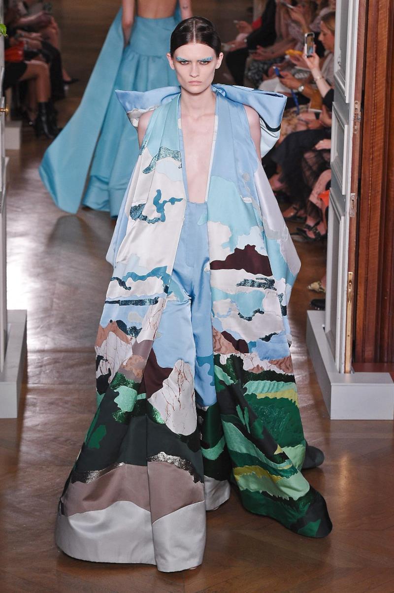 Sfilata VALENTINO Collezione Alta moda Autunno Inverno 19/20 Parigi - ISI_3759