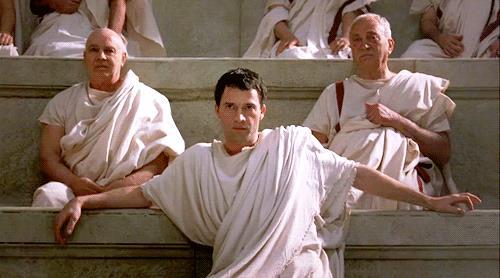 Marco Antonio in una scena di Roma