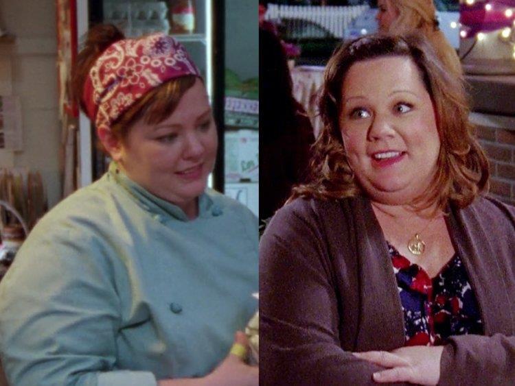 Una Mamma per Amica foto di Sookie differenze tra la prima e l'ultima stagione