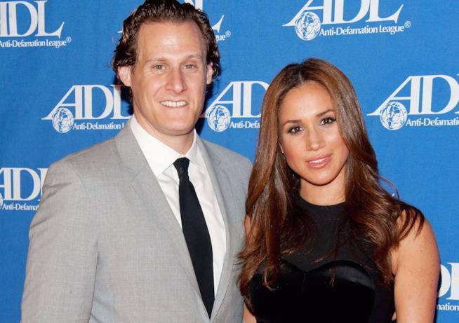 Meghan Markle con il primo marito Trevor Engelson