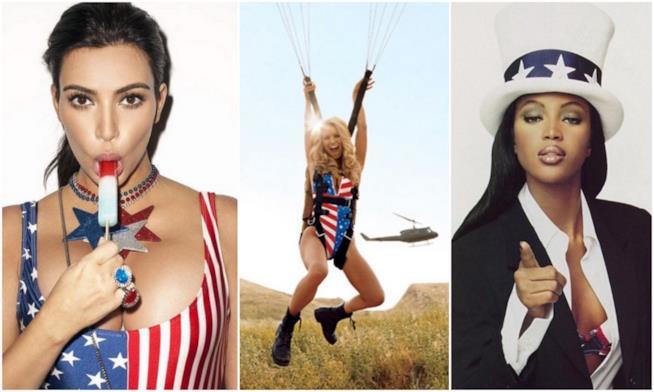 Alcuni scatti delle star su Instagram per il 4 luglio