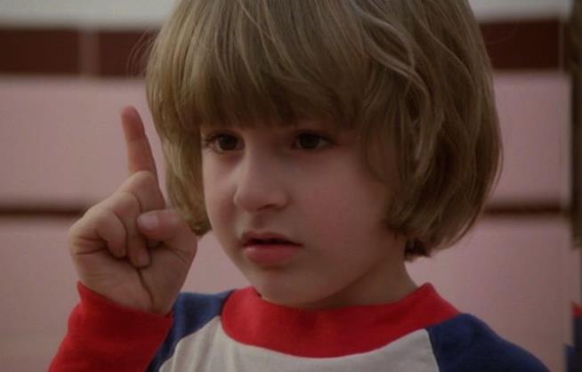 Il piccolo Danny Torrance in Shining