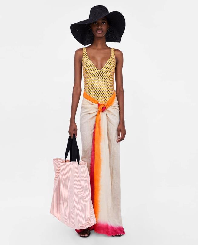 Collezione beachwear Zara 2018