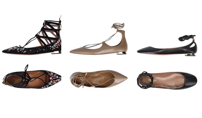 la più grande selezione di moda di vendita caldo buono sconto Le ballerine con i lacci