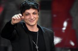 Il cantante Ultimo a Sanremo 2018