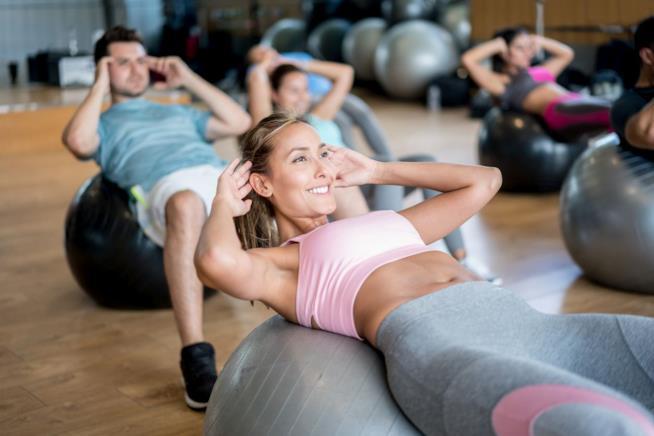 Sessione di pilates