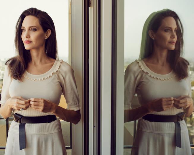 Un intenso ritratto di Angelina Jolie