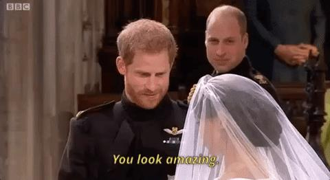 Le prime parole di Harry a Meghan durante il Royal Wedding
