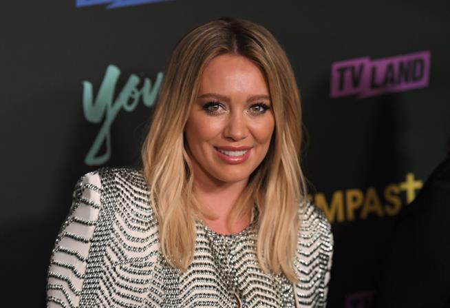 L'attrice Hilary Duff alla prèmiere di Younger