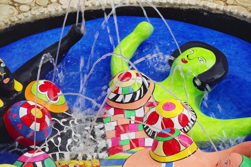 Il Giardino dei Tarocchi realizzato dall'artista Niki de Saint Phalle in Toscana