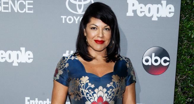 Sara Ramirez a un evento ABC
