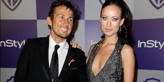 L'attrice Olivia Wilde con l'ex-marito Tao Ruspoli