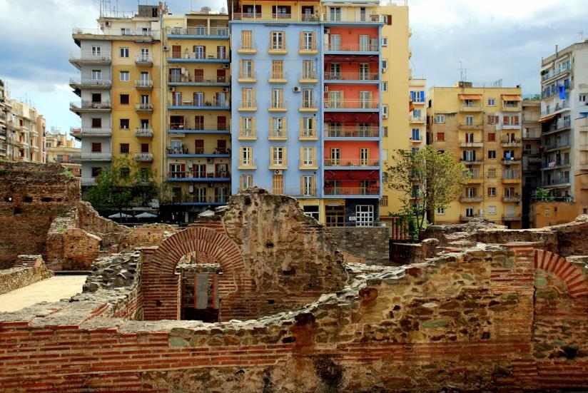 Contrasti architettonici a Salonicco