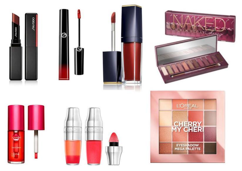 ad44e2d31272 Make up Cherry: la tendenza color ciliegia per make up e profumi 2019