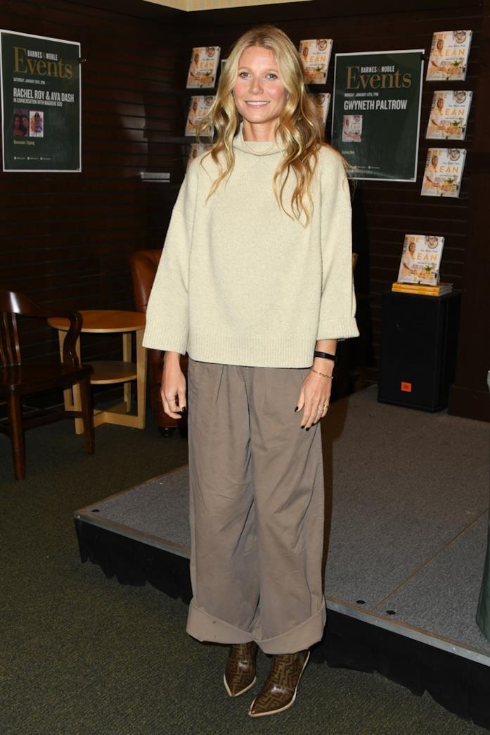 Gwyneth Paltrow con stivali camperos