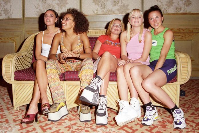 Le Buffalo con le zeppe sono il modello preferito dalle Spice Girls