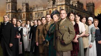 Il cast della serie TV Downton Abbey