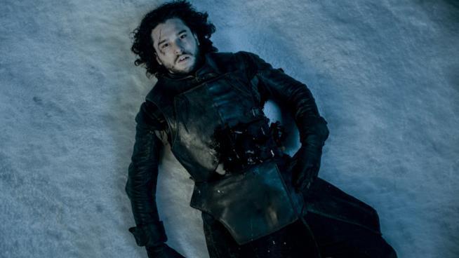 Jon Snow morto nella neve