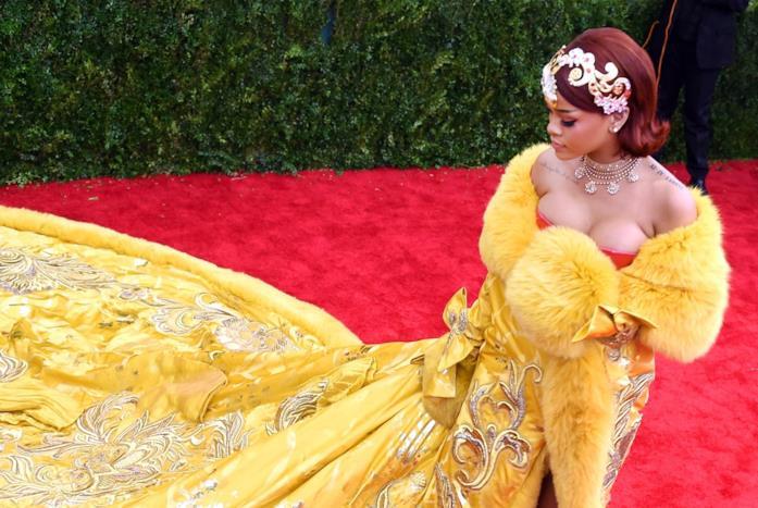 Rihanna sul red carpet