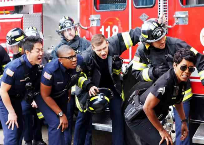 911: un'immagine dall'episodio 2x06