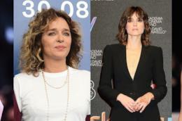 Le attrici italiane Jasmine Trinca, Valeria Golino, Kasia Smutniak e Paola Cortellesi