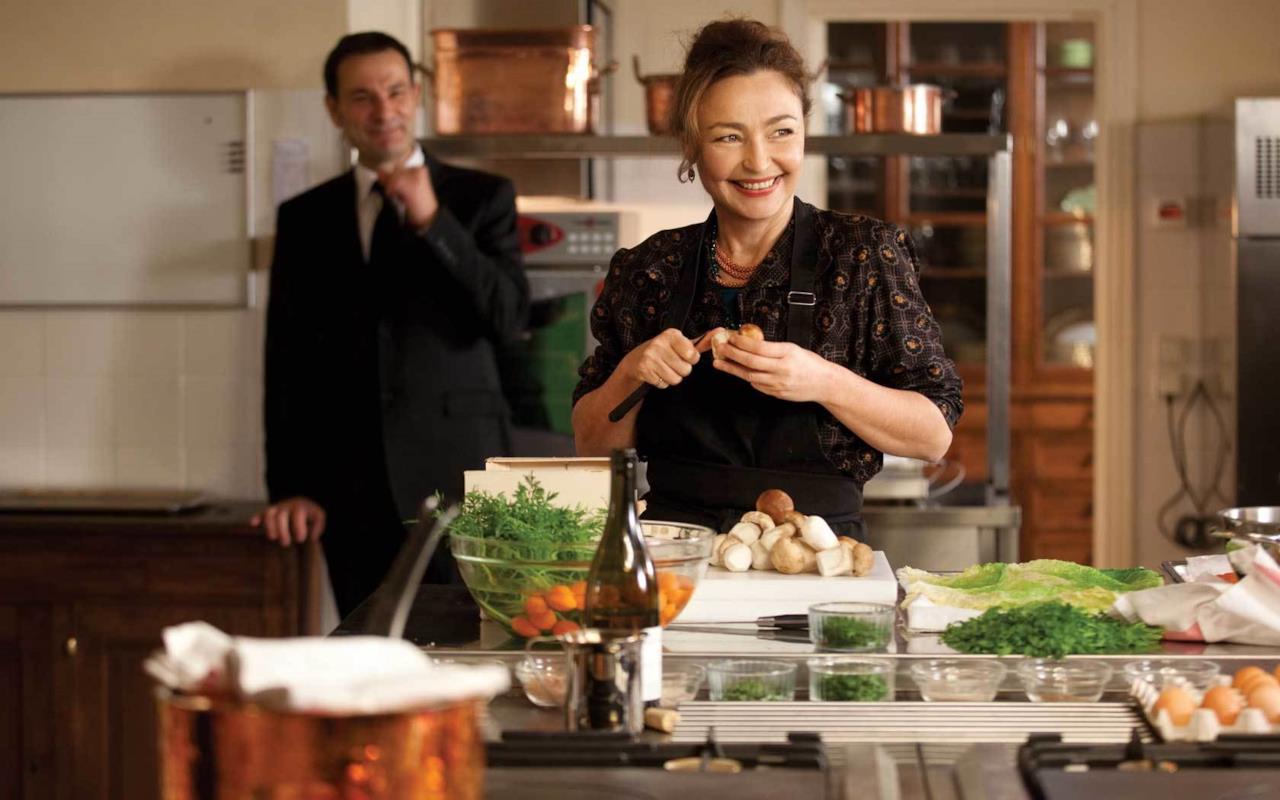 Catherine Frot ne La cuoca del presidente di Christian Vincent (2012)